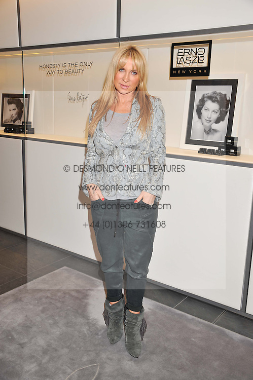 MEG MATTHEWS at a lunch hosted by Harrods' and Erno Laszlo to celebrate the launch of the Erno Laszlo Hollywood Collection held in The Penthouse, Harrods, Knightsbridge, London on 25th April 2012.