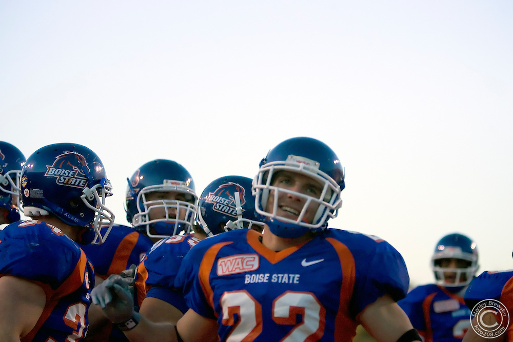 11-19-05-Boise ID. Boise State vs. the University of Idaho in Bronco Stadium. The Broncos defeated the Vandals 70-35.