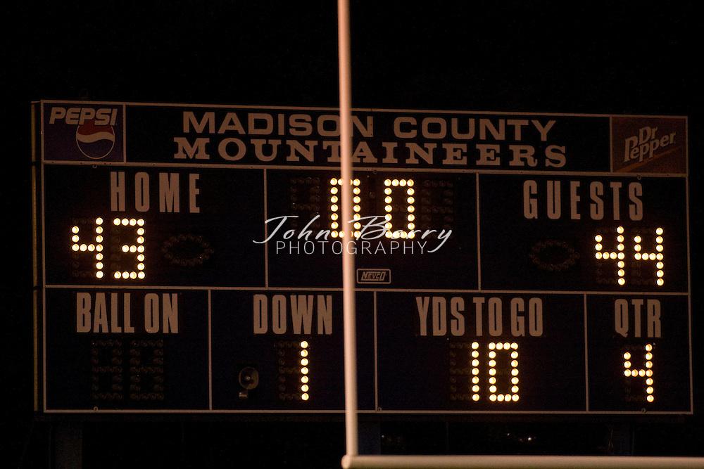 MCHS Varsity Football.vs George Mason.10/12/2007..