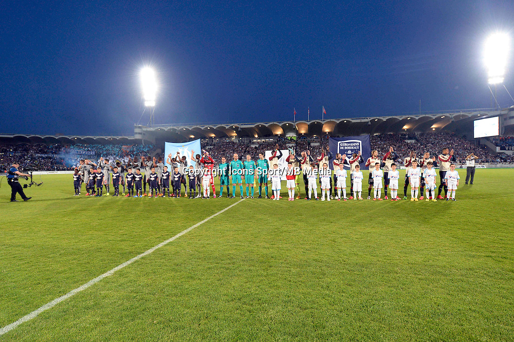 Presentation des Equipes  - 12.04.2015 - Bordeaux / Marseille - 32eme journee de Ligue 1 <br />