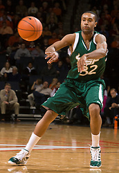 South Florida forward Aris Williams (32) in action against UVA.  The Virginia Cavaliers defeated the South Florida Bulls 77-75 at the University of Virginia's John Paul Jones Arena in Charlottesville, VA on November 19, 2008.