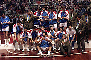 Europei Roma 1991  - Premiazioni - Jugoslavia Medaglia d'OroFoto: Fabio Ramani