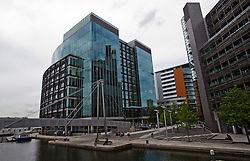 ©  London News Pictures. 21/08/2012. London, UK. General view of the office block in Paddington, London where mobile network operator Everything Everywhere holds offices , August 21, 2012.  Telecoms regulator Ofcom has allowed Everything Everywhere,  the owner of Orange and T-Mobile, to launch 4G services in the UK. Photo credit : Ben Cawthra/LNP