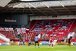 S82 flags and crowdies - Rogan/JMP - 28/08/2020 - Ashton Gate Stadium - Bristol, England - Bristol City v Sheffield Wednesday - Sky Bet Championship.