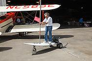 Motorized windsurf board at WAAAM