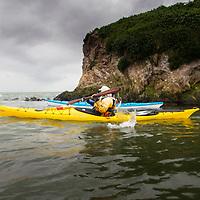 Kayakers at Bird Rock