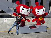 China, Beijing, the Olympic Stadium (AKA Bird's Nest)