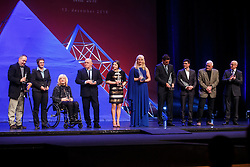 Sport athletes received trophies for getting Olympic medals in Rio Olympic games during Slovenian Sports personality of the year 2016 annual awards presented on the base of Slovenian sports reporters, on December 13, 2016 in Cankarjev dom, Ljubljana, Slovenia. Photo by Grega Valancic / Sportida
