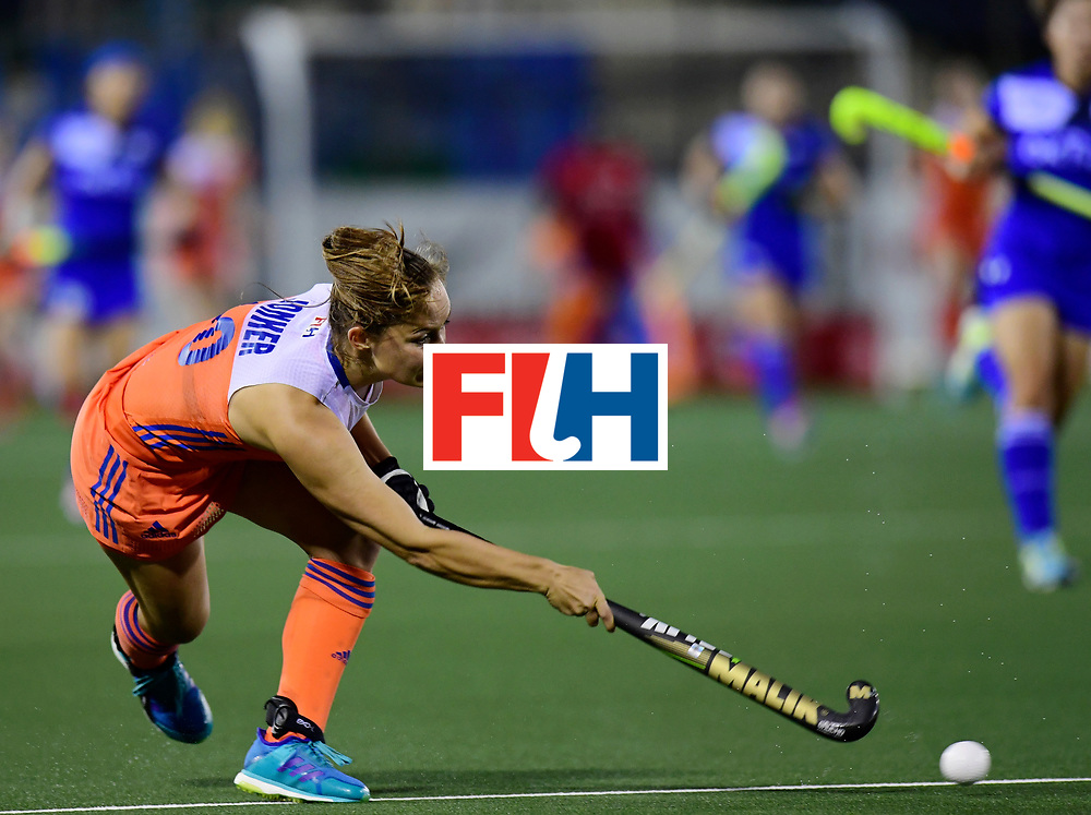 AUCKLAND - Sentinel Hockey World League final women<br /> Match id:<br /> 18 NED v KOR (Semi Final)<br /> Foto: Kelly Jonker <br /> WORLDSPORTPICS COPYRIGHT FRANK UIJLENBROEK