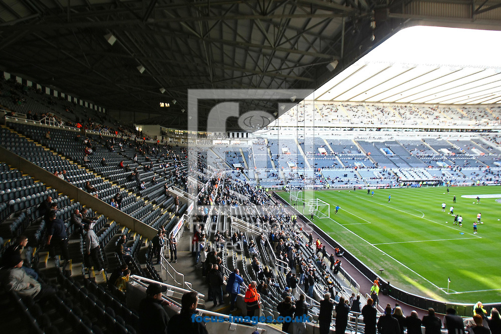 Picture by Paul Chesterton/Focus Images Ltd.  07904 640267.18/03/12.General views of St James' Park Stadium, Newcastle.
