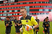 ALKMAAR - 25-06-2017, eerste training AZ. AZ keeper Marco Bizot