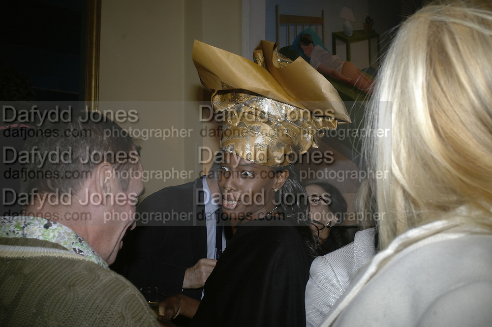 Barbara James, Party for Jean Pigozzi hosted by Ivor Braka to thank him for the loan exhibition 'Popular Painting' from Kinshasa'  at Tate Modern. Cadogan sq. London. 29 May 2007.  -DO NOT ARCHIVE-© Copyright Photograph by Dafydd Jones. 248 Clapham Rd. London SW9 0PZ. Tel 0207 820 0771. www.dafjones.com.