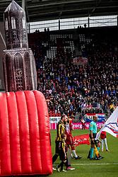11-03-2018 NED: FC Utrecht - Vitesse, Utrecht<br /> Utrecht verslaat met 5-1 Vitesse / Guram Kashia #37 of Vitesse