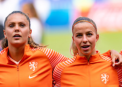 07-07-2019 FRA: Final USA - Netherlands, Lyon<br /> FIFA Women's World Cup France final match between United States of America and Netherlands at Parc Olympique Lyonnais. USA won 2-0 / Lieke Martens #11 of the Netherlands, Jackie Groenen #14 of the Netherlands