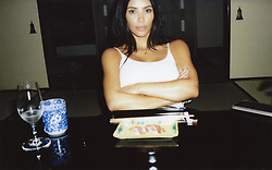 """Kim Kardashian releases a photo on Instagram with the following caption: """"Sushi \ud83c\udf63"""". Photo Credit: Instagram *** No USA Distribution *** For Editorial Use Only *** Not to be Published in Books or Photo Books ***  Please note: Fees charged by the agency are for the agency's services only, and do not, nor are they intended to, convey to the user any ownership of Copyright or License in the material. The agency does not claim any ownership including but not limited to Copyright or License in the attached material. By publishing this material you expressly agree to indemnify and to hold the agency and its directors, shareholders and employees harmless from any loss, claims, damages, demands, expenses (including legal fees), or any causes of action or allegation against the agency arising out of or connected in any way with publication of the material."""