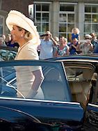 3-9-2014 MIDDELBURG -  Queen Maxima opens Center for Teaching Excellence University College Roosevelt in Middelburg, Wednesday, September 3, 2014. COPYRIGHT ROBIN UTRECHT