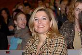 Prinses Maxima bij Scholierenproject Mensenrechten en Migratie
