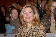 Princess M&aacute;xima has opend on March, 17 2006 the last day of the schoolproject on humanrights and migration in the  university of Utrecht with a speech .<br /> <br /> Prinses M&aacute;xima heeft op 17 maart 2006 de slotdag scholierenproject Mensenrechten en Migratie geopend.<br /> Hare Koninklijke Hoogheid Prinses M&aacute;xima opent vrijdag 17 maart aan de Universiteit Utrecht met een toespraak de slotdag van het Utrechtse scholierenproject Mensenrechten en Migratie.  Zij doet dit als voorzitter van het Curatorium van de Prins Claus Leerstoel