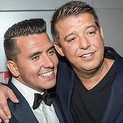 NLD/Amsterdam/20161013 - Televiziergala 2016, Jan Smit en manager Aloys Buijs