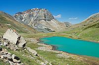 Mount Tekarra and glacial Centre Lake, Jasper National Park Alberta Canada