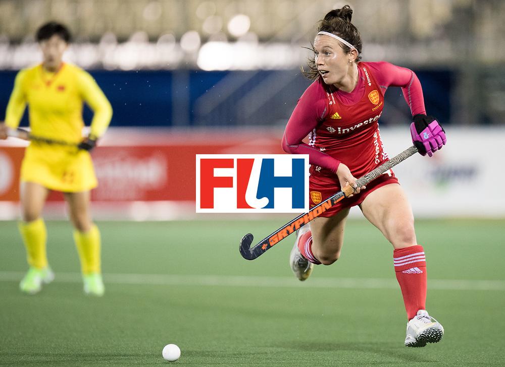 AUCKLAND - Sentinel Hockey World League final women<br /> Match id 10302<br /> ENG v China<br /> Foto: Laura Unsworth <br /> WORLDSPORTPICS COPYRIGHT FRANK UIJLENBROEK