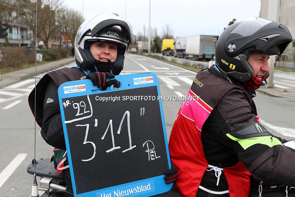 25-02-2017: Wielrennen: Omloop Het Nieuwsblad: Gent  <br /> GENT (BEL) wielrennen