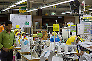 The C&A line inside an Epyllion Group garment factory in Bangladesh.