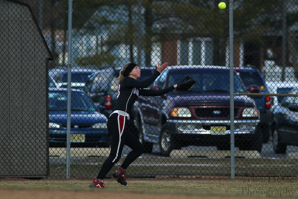 Ursinus College Softball Sophomore Pitcher/Outfielder Caitlin Whelan (33) - Ursinus College Softball vs Rowan University at Rowan University's Softball Field in Glassboro, NJ on Wednesday March 27, 2013. (photo / Mat Boyle)