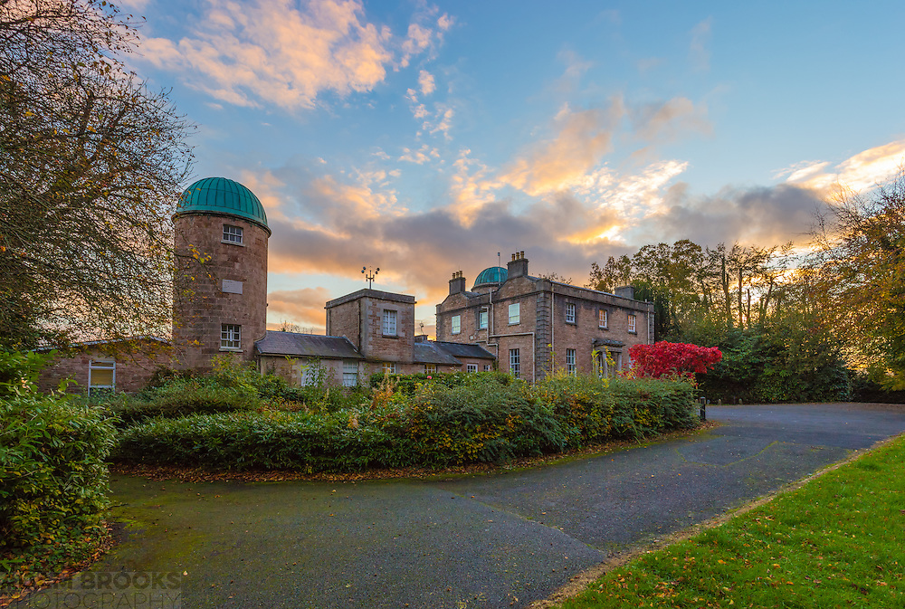 This is a shot I got last month at Armagh Observatory on an evening when there were some dramatic clouds and colours on show as sunset drew in and the maple tree had its brilliant red on show. This shot is made up of 3 photos at 18mm in portrait mode to capture more of the wonderful sky.