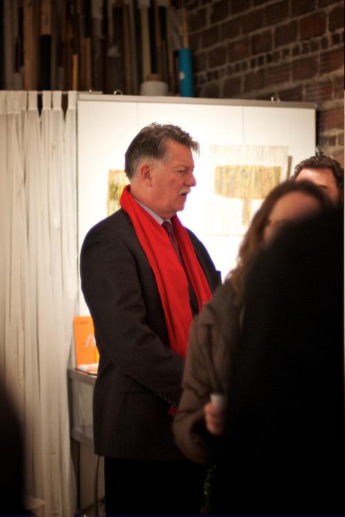 """Gallery GAS reception Gerard Amsellem """"Je crie, j'ecris. I Write, I Scream"""""""