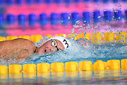 Charlotte Bonnet (FRA) competes on Women's 200 m Freestyle during the Swimming European Championships Glasgow 2018, at Tollcross International Swimming Centre, in Glasgow, Great Britain, Day 4, on August 5, 2018 - Photo Stephane Kempinaire / KMSP / ProSportsImages / DPPI