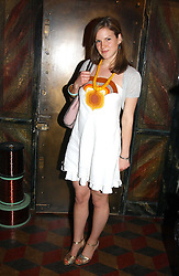 KATE SUMNER daughter of Sting at a launch preview sale of Nathalie Hambro's new line of fashion accessories 'Full of Chic' held at her home 63 Warwick Square, London SW1 on 5th May 2005.<br /><br />NON EXCLUSIVE - WORLD RIGHTS