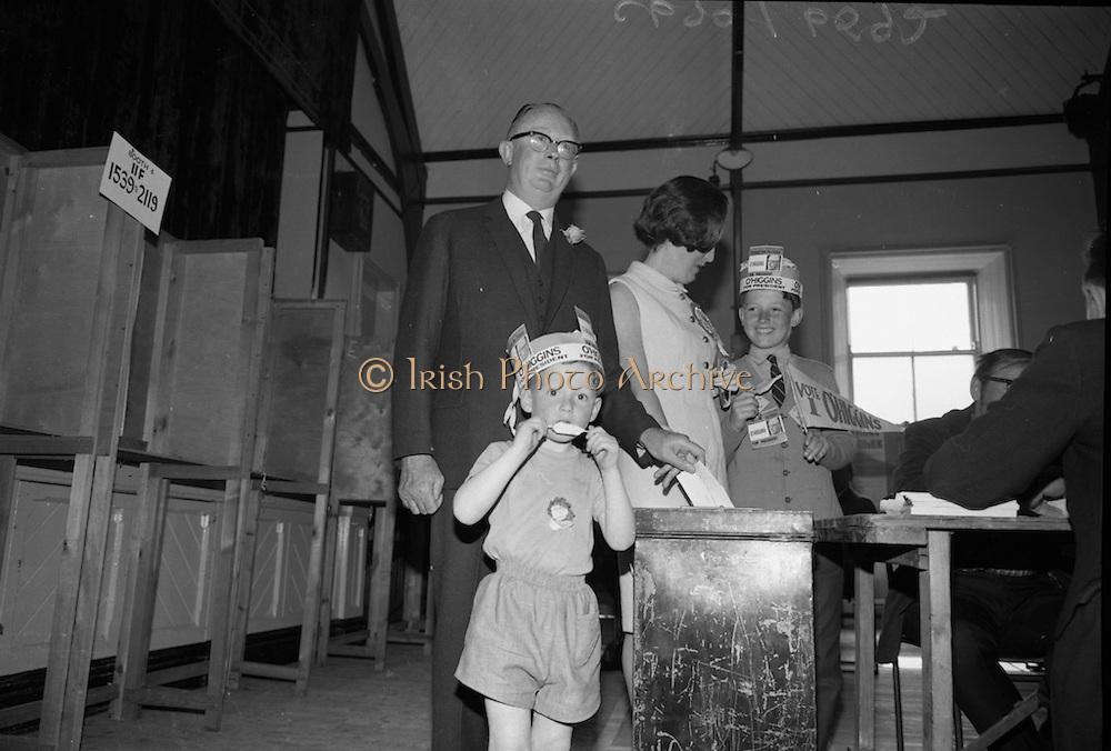 T F O Higgins votes in Presidential Election<br /> 01.06.1966