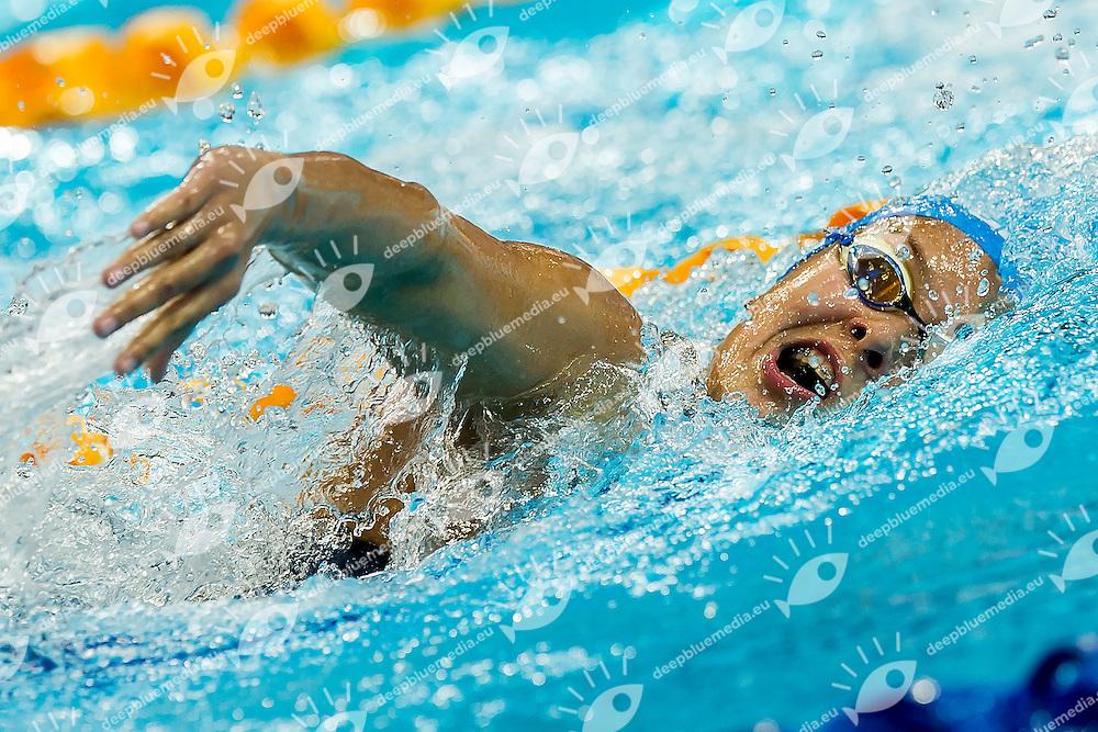 SALAMATINA Valeriia RUS<br /> 400 Freestyle Women Heats<br /> Day04 28/08/2015 - OCBC Aquatic Center<br /> V FINA World Junior Swimming Championships<br /> Singapore SIN  Aug. 25-30 2015 <br /> Photo A.Masini/Deepbluemedia/Insidefoto