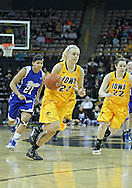 December 20, 2011: Iowa Hawkeyes guard Jaime Printy (24) drives to the basket during the NCAA women's basketball game between the Drake Bulldogs and the Iowa Hawkeyes at Carver-Hawkeye Arena in Iowa City, Iowa on Tuesday, December 20, 2011. Iowa defeated Drake 71-46.