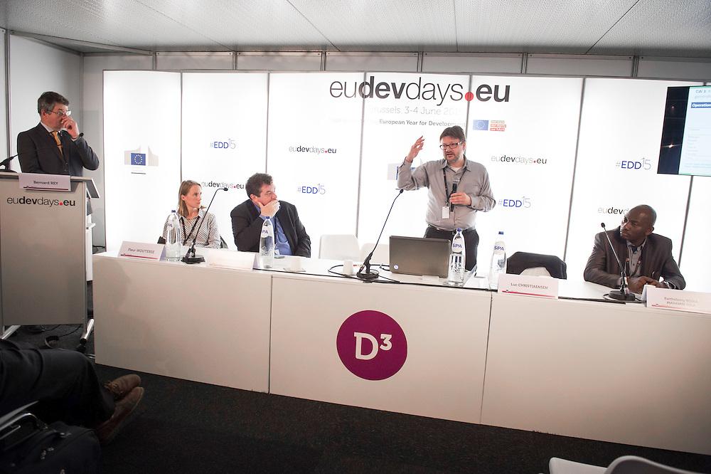 03 June 2015 - Belgium - Brussels - European Development Days - EDD - Food - Revolutionising data use to feed the planet © European Union