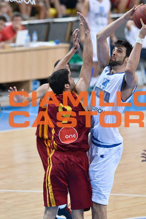DESCRIZIONE : Skopje Nazionale Italia Uomini Torneo Internazionale di Skopje Italia Macedonia Italy FYROM<br /> GIOCATORE : Riccardo Cervi<br /> CATEGORIA : Tiro<br /> SQUADRA : Italia Italy<br /> EVENTO : Trofeo Internazionale di Skopje<br /> GARA : Italia Macedonia Italy FYROM<br /> DATA : 26/07/2014<br /> SPORT : Pallacanestro<br /> AUTORE : Agenzia Ciamillo-Castoria/GiulioCiamillo<br /> Galleria : FIP Nazionali 2014<br /> Fotonotizia : Skopje Nazionale Italia Uomini Torneo Internazionale di Skopje Italia Macedonia Italy FYROM