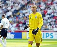 Photo: Chris Ratcliffe.<br /> England v Paraguay. Group B, FIFA World Cup 2006. 10/06/2006.<br /> Paul Robinson of England.