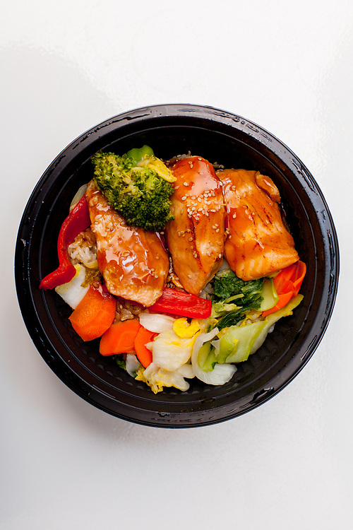 Grilled Teriyaki Salmon Bowl from Whole Foods Union Square ($12.49)