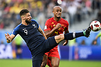 SOCCER : France vs Belgium - World Cup 2018 - 07/10/2018<br /> <br /> 09 OLIVIER GIROUD (FRA) - 04 VINCENT KOMPANY (BEL)<br /> Norway only