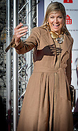 7-3- 2016  OEGSTGEEST Koningin Maxima is aanwezig bij een bijeenkomst van WOMEN Inc. over verschillen tussen man en vrouw in de gezondheidszorg. Centraal staan de veranderingen in onderzoek, onderwijs en bewustwording om een gezondheidszorg op maat voor vrouwen te realiseren. COPYRIGHT ROBIN UTRECHT<br /> 7-3- 2016 OEGSTGEEST Queen Maxima attends a meeting of WOMEN Inc. about differences between men and women in health care. It focuses on the changes in research, education and awareness in order to achieve a health care tailored for women. COPYRIGHT ROBIN UTRECHT