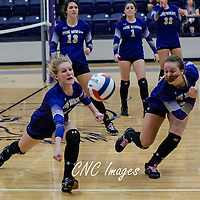 10-26-16 Berryville Volleyball vs. Jonesboro Westside (2nd Round State)