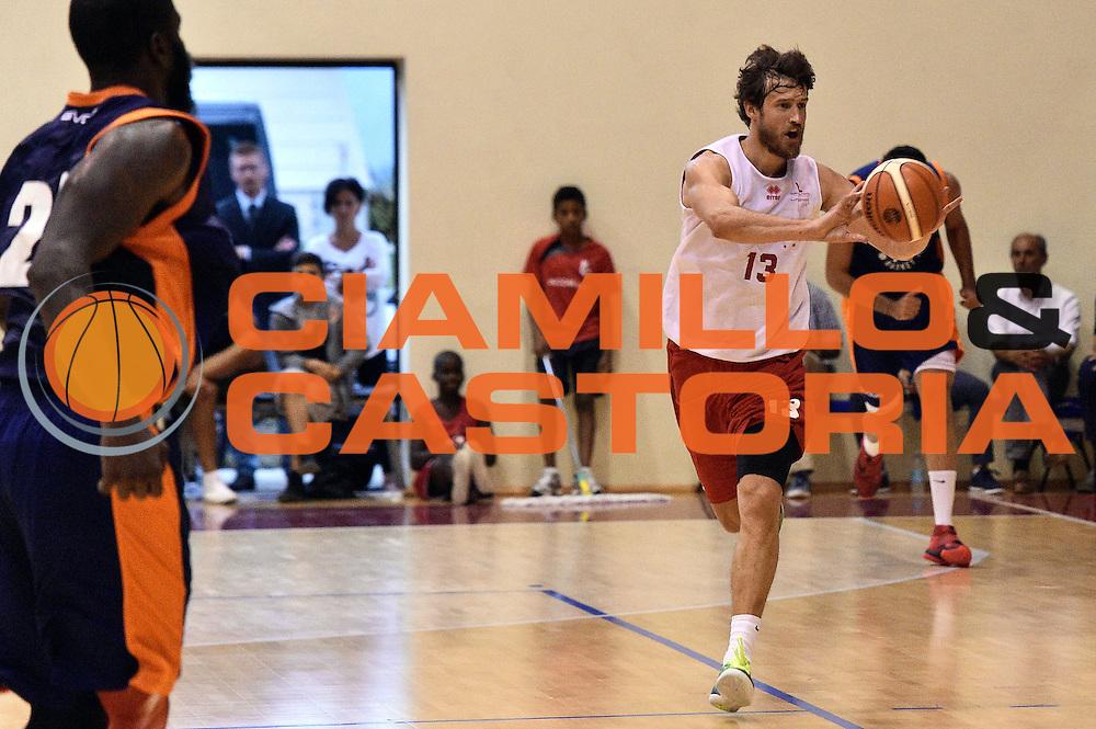 Simas Jasaitis<br /> Consultinvest Victoria Libertas Pesaro - Aurora Basket Jesi<br /> Legabasket Serie A 2016/2017<br /> Borgo Pace, 30/08/2016<br /> Foto Ciamillo-Castoria