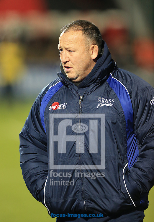 Steve Diamond Sale Sharks Director of Rugby during the European Rugby Champions Cup match at Allianz Park, London<br /> Picture by Michael Whitefoot/Focus Images Ltd 07969 898192<br /> 13Duncan Taylor of Saracens2014