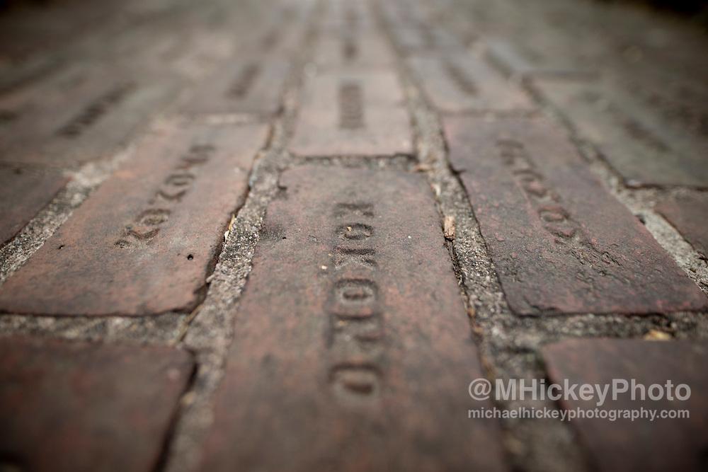Kokomo bricks at Seiberling Mansion - Kokomo, Indiana