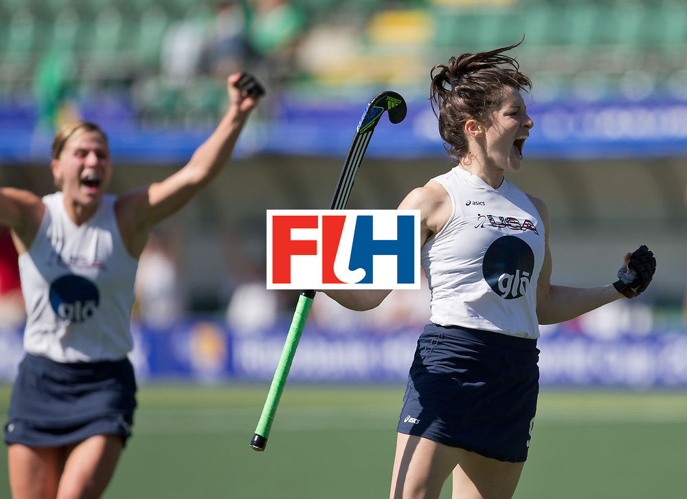 Hockey World Cup 2014<br /> The Hague, Netherlands <br /> Day 6- Women USA v China<br /> <br /> <br /> Photo: Grant Treeby<br /> www.treebyimages.com.au