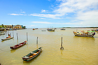 Espirito Santo - Conceicao da Barra -  Porto de Conceicao da Barra, rio Cricare - Foto: Gabriel Lordello/Mosaico Imagem