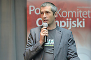 Lukasz Kruczek trainer coach of ski jumping during conference of olympic trainers and coaches at COS (Centralny Osrodek Sportowy) in Spala on May 13, 2014.<br /> <br /> Poland, Spala, May 13, 2014<br /> <br /> Picture also available in RAW (NEF) or TIFF format on special request.<br /> <br /> For editorial use only. Any commercial or promotional use requires permission.<br /> <br /> Mandatory credit:<br /> Photo by &copy; Adam Nurkiewicz / Mediasport