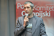 Lukasz Kruczek trainer coach of ski jumping during conference of olympic trainers and coaches at COS (Centralny Osrodek Sportowy) in Spala on May 13, 2014.<br /> <br /> Poland, Spala, May 13, 2014<br /> <br /> Picture also available in RAW (NEF) or TIFF format on special request.<br /> <br /> For editorial use only. Any commercial or promotional use requires permission.<br /> <br /> Mandatory credit:<br /> Photo by © Adam Nurkiewicz / Mediasport