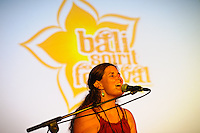 Sacred Earth, Sacred Music, performing at Bali Spirit Festival, 20/3/2013.